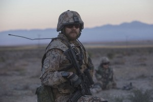 Kommandant Claus Michael Pedersen (Pilou Asbaek) in Afghanistan