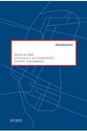 """""""Einführung in das Altisländische"""" - Ein Lehr- Lesebuch (Quelle: Helmut Buske Verlag)"""